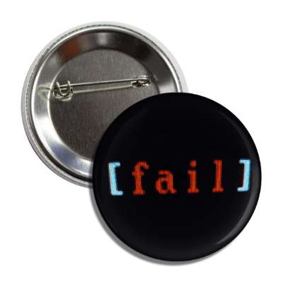 fail dos text button
