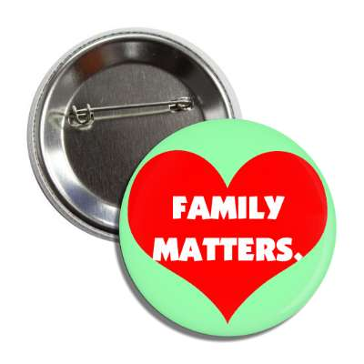 family matters red heart button