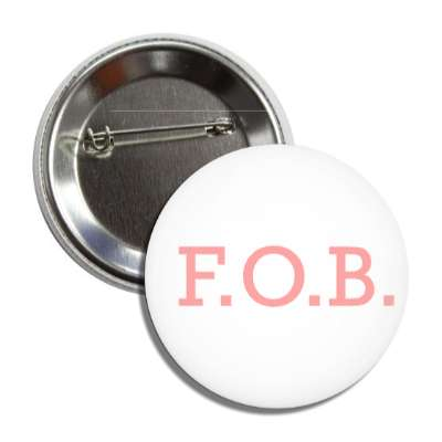 fob friend of bride white pink button