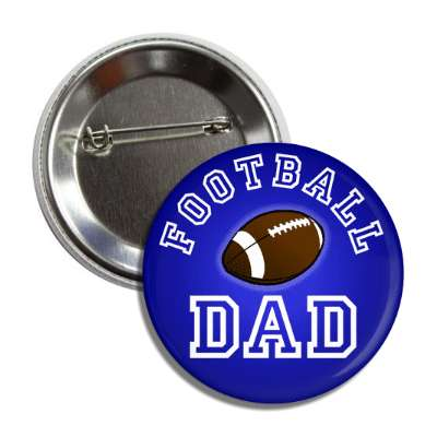 football dad blue button