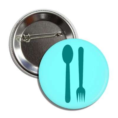 fork spoon silverware button