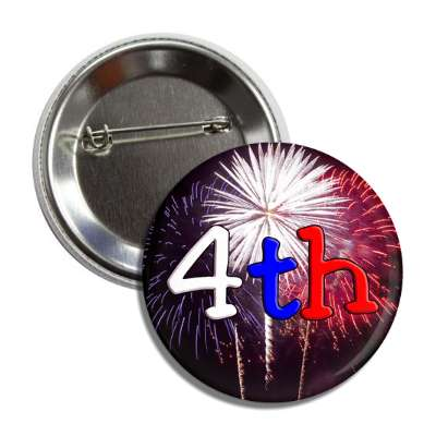 fourth of july fireworks button