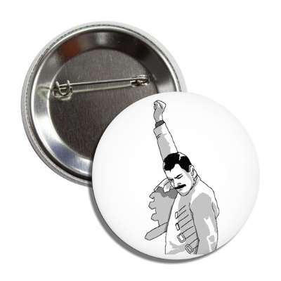 freddie mercury button
