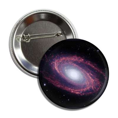 galaxy purple spiral deep space nebula massive button