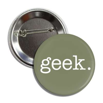 geek typewriter button