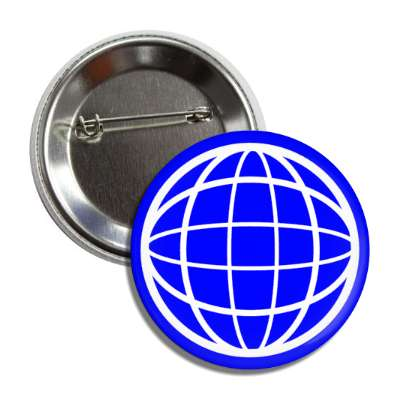 globe wireframe sphere button