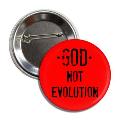 god not evolution red button
