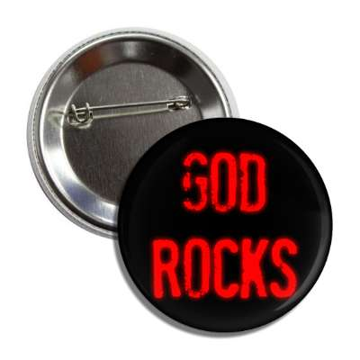 god rocks button