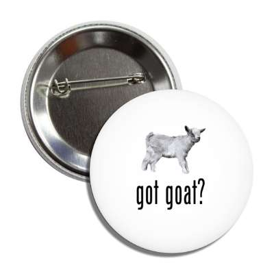 got goat button