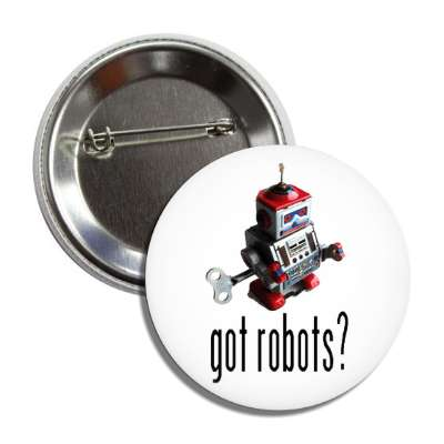 got robots windup robot button