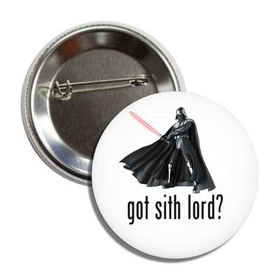 got sith lord darth vader button
