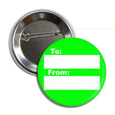 green to from gift tag button