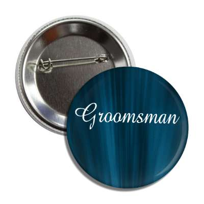 groomsman blue curtains button