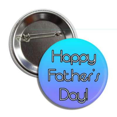 happy fathers day aqua purple button