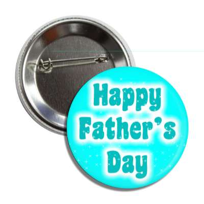happy fathers day aqua button