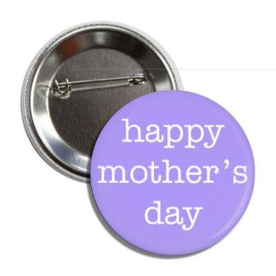 happy mothers day typewriter blue button