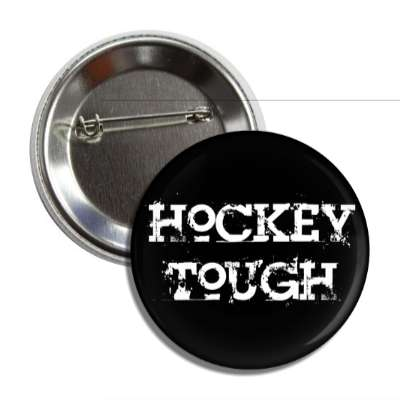 hockey tough button