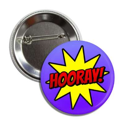 hooray student motivation burst blue button
