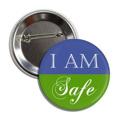 i am safe button