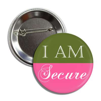 i am secure button