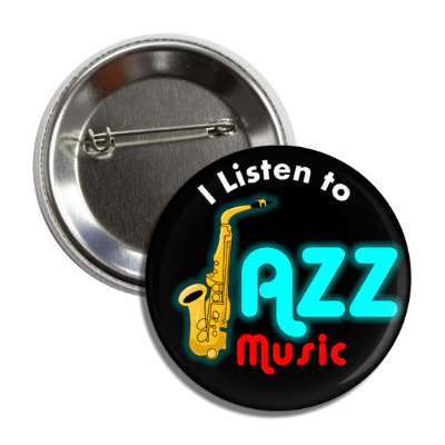 i listen to jazz music button