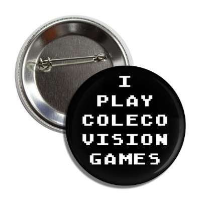 i play colecovision games button