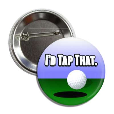 id tap that putt golfball button