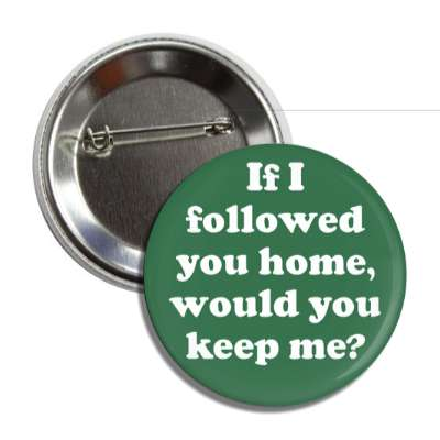 if i followed you home would you keep me button