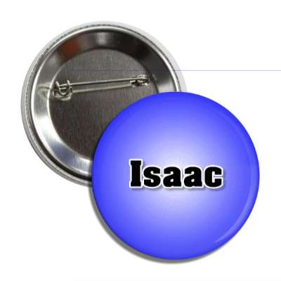 isaac male name blue button