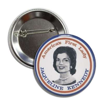 jaqueline kennedy button
