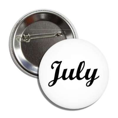 july seventh month calendar button