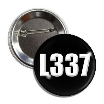 leet bevel black button