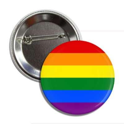 lgbt rainbow flag button