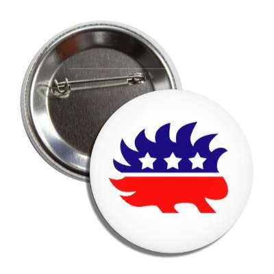 libertarian party porcupine button