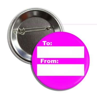 magenta to from gift tag button