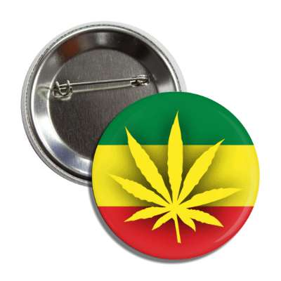 marijuana legalize green yellow red african flag button