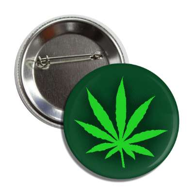 marijuana legalize leaf shadow button