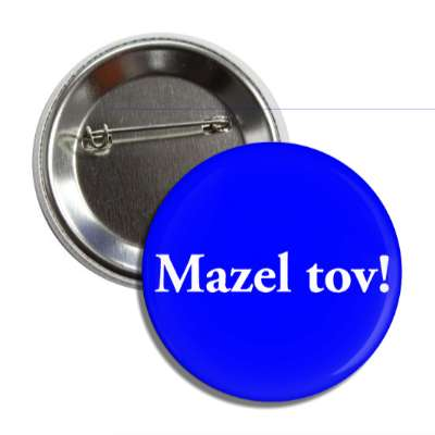 mazel tov button
