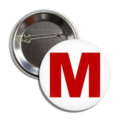 medium m clothing size button
