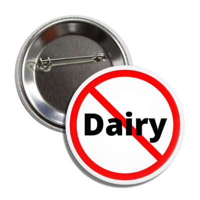 no dairy red slash button