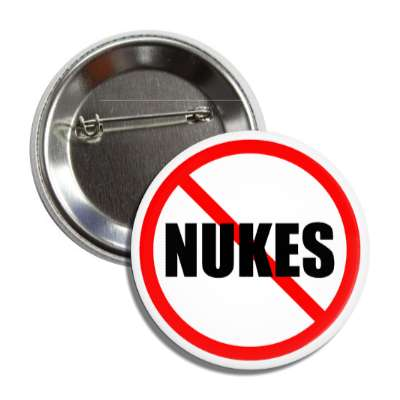 no nukes red slash button