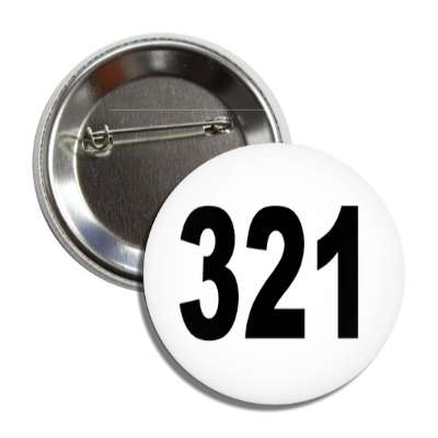 number 321 white black button