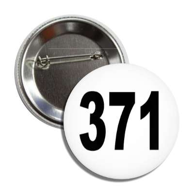 number 371 white black button