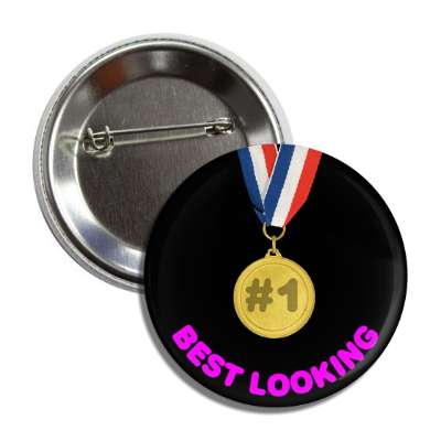 number one best looking medallion button