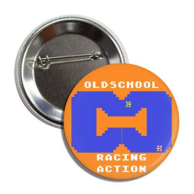 old school racing action button
