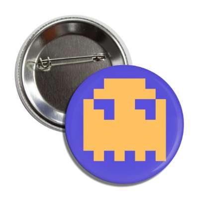 pac man ghost button
