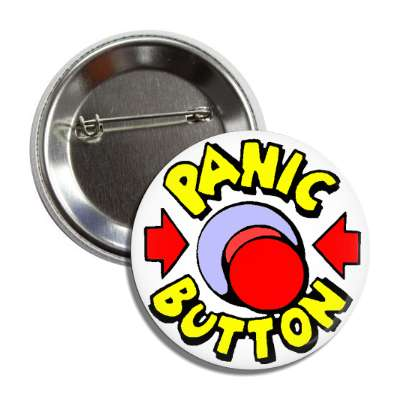 panic button arrows red push button button