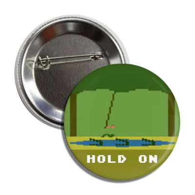 pitfall hold on atari 2600 button
