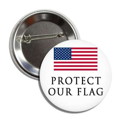 protect our flag button