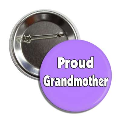 proud grandmother button